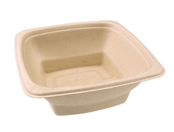 Sabert 1000ml Microwavable Square Bowl PUL49032F300N