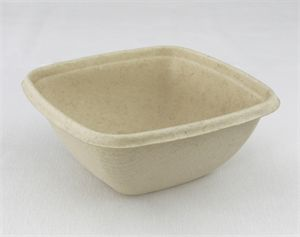 Sabert 375ml Microwavable Square Bowl PUL15012
