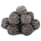 10 Heavy Duty Galvanised Steel Scourers (48g)