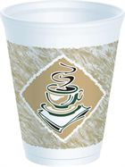 "16LXG ""Cafe G"" Dart Foam Cup 16oz(1000)"